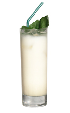 43 - The 43 drink is made from Licor 43 and milk, and served in a highball glass.