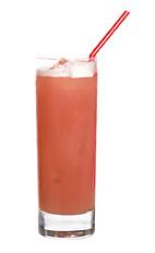 491 - The 491 drink is made from rum, dry gin and ginger ale and served in a highball glass. Add a bit of grenadine to get a nice peachish color.