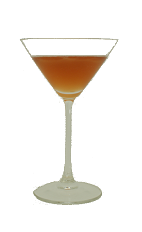 Allegheny Cocktail - The Allegheny Cocktail is made from Bourbon, Dry Vermouth, Blackberry Brandy and lemon juice, and served in a chilled cocktail glass.