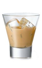 Amarula on Ice - The Amarula on Ice drink is made from Amarula cream liqueur and served in an old-fashioned glass.