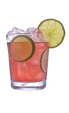 Cranberry Caipirinha - The Cranberry Caipirinha drink is made from cachaca, lime juice, simple syrup, cranberries, orange and sugar, and served in an old-fashioned glass.