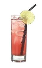 Absolut Passion - The Absolut Passion drink is made from Absolut Mandrin, Passoa and lemon-lime soda, and served in a highball glass.