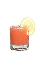 Absolut Trouble - The Absolut Trouble drink is mde from citrus vodka (aka Absolut Citron), Grand Marnier, orange juice and grenadine, and served in an old-fashioned glass.
