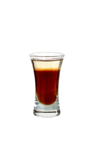 After Twelve - The After Twelve shot is made from dark creme de cacao and creme de menthe, and served in a shot glass.