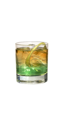 Apple Jim - The Apple Jim drink is made from bourbon (aka Jim Beam) and Sourz Apple, and served in an old-fashioned glass.