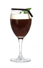 Amaretto Coffee - The Amaretto Coffee drink is made from amaretto, espresso or hot coffee, and whipped cream, and served in a wine glass or an Irish coffee glass.