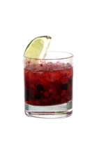 Cranberry Fields - The Cranberry Fields drink is made from cranberry vodka, honey, cranberries and crushed ice, and served in an old-fashioned glass.