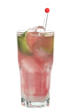 Finlandia Candy - The Finlandia Candy drink is made from lime vodka (aka Finlandia lime), Schweppes Lemon and cranberry juice, and served in a highball glass.