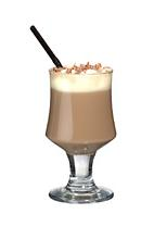 Lumumba - The Lumumba drink is made from brandy, hot chocolate and whipped cream, and served in a wine glass or an Irish coffee glass.