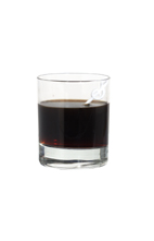 Seriously Espresso - The Seriously Espresso drink is made from vodka (aka Seriously Vodka), dry vermouth, creme de cacao and espresso, and served in an old-fashioned glass.