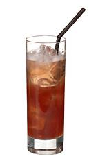 Singapore Gin Sling - The Singapore Gin Sling drink is made from gin, cherry brandy, Benedictine, Cointreau, Angostura Bitters, pineapple juice, lime juice and grenadine, and served in a highball glass.
