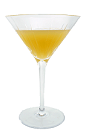The Apricot Cocktail is made from Apricot Brandy, Vodka, fresh lemon juice and fresh orange juice, and served in a cocktail glass.