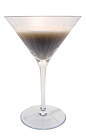 Babbie's Special Cocktail is made from Apricot Brandy, Gin and milk, and served in a chilled cocktail glass.