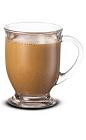 The Baileys Cocoa drink is made from Baileys Irish Cream and hot cocoa, and served in a coffee mug.