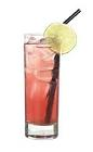 The Absolut Passion drink is made from Absolut Mandrin, Passoa and lemon-lime soda, and served in a highball glass.