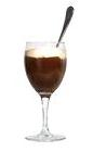 The Alex Coffee drink is made from scotch whiskey, brown sugar and hot coffee, and served in a wine glass or an Irish coffee glass.