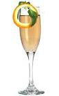 The Bolli Stolli drink is made from vodka (aka Stolichnaya) and champagne (aka Bollinger), and served in a champagne flute.
