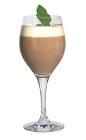 The Cape Brendans Coffee drink is made from brandy (aka KWV Cape), Irish cream (Saint Brendans or Baileys), hot coffee and whipped cream, and served in a wine or Irish coffee glass.