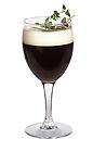 The CeeDee drink is made from gin, Kahlua, Mandarine Napoleon, hot coffee and whipped cream, and served in a white wine glass, or an Irish coffee glass.