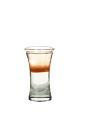 The Flatline shot is made from sambuca, tequila and Tabasco, and served in a shot glass.