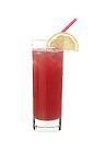 The Grape Hill drink is made from orange vodka (aka Absolut Mandrin), grapefruit juice, sour mix and cranberry juice, and served in a highball glass.