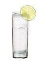 The Limelight Express drink is made from lime vodka and lemon-lime soda, and served in a highball glass.