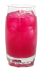 The Pêra Lemonade is made from Pêra™ Prickly Pear Syrup, Vodka and lemonade, and served in a highball glass.